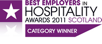 Best Employers in Hospitality Awards Winners 2011